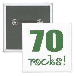 70 Rocks Pin