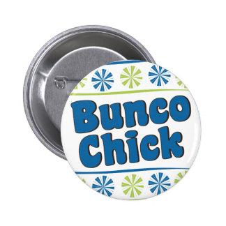 70 s Bunco Chick Pin
