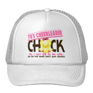 70's Cheerleader Chick Trucker Hat