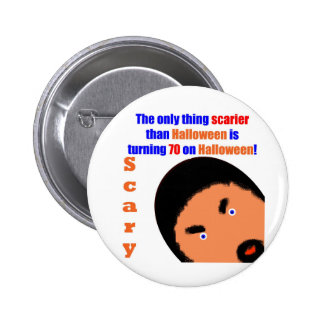 70 Scary Birthday Button