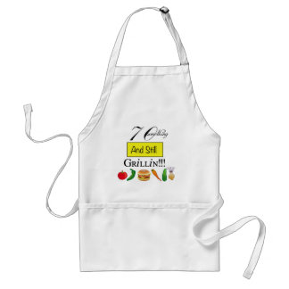 70 Something and Still Grillin' Apron