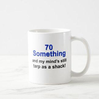 70 Something... Classic White Coffee Mug