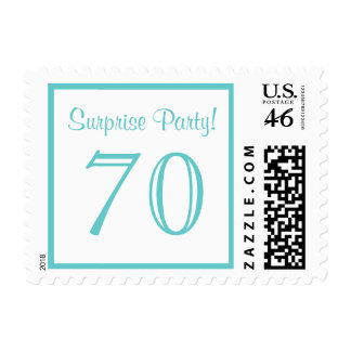 70 Surprise Party Postage