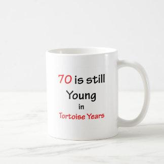 70 Tortoise Years Coffee Mug