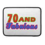 70 y diseños fabulosos del cumpleaños fundas macbook pro