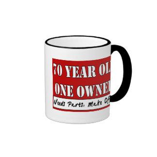 70 Year Old, One Owner - Needs Parts, Make Offer Ringer Mug