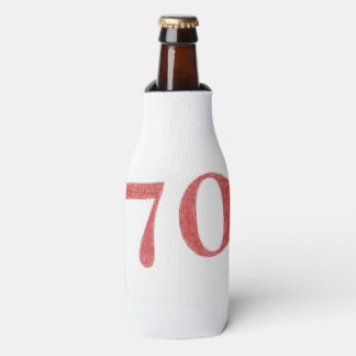 70 years anniversary bottle cooler