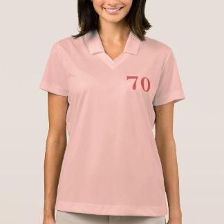 70 years anniversary polo shirt