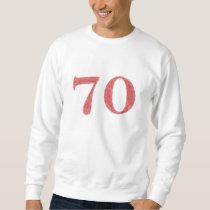 70 years anniversary sweatshirt