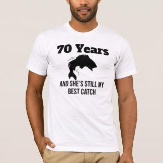 70 Years Best Catch T-Shirt