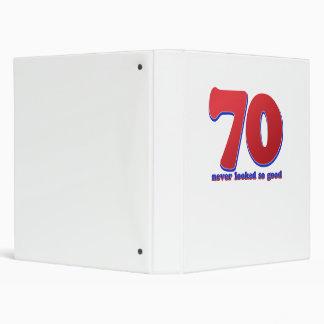 70 years binder