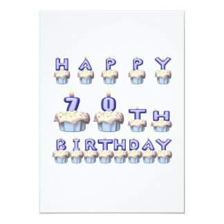 70 Years Old Card