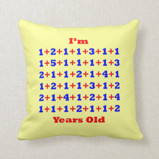 70 Years Old Pillow