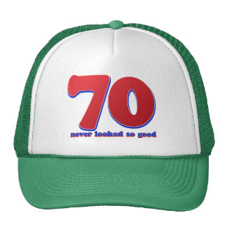 70 years trucker hat