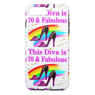 70 YR OLD SHOE QUEEN iPhone 8 PLUS/7 PLUS CASE