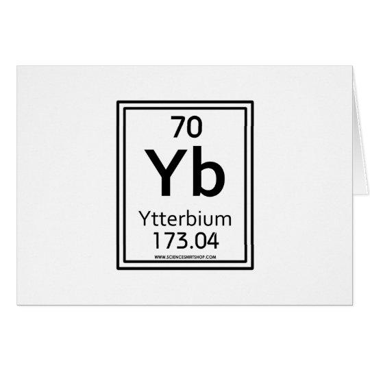 70 Ytterbium Card