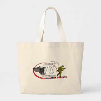 70ème anniversary of the Normandy landing of Norma Large Tote Bag