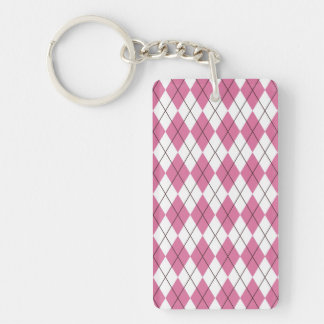 70er Muster Pinky Single-Sided Rectangular Acrylic Keychain
