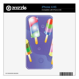 70Ice Cream _rasterized iPhone 4S Decal