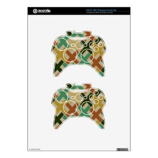 70s Burlap Xs Xbox 360 Controller Skins