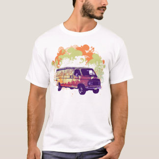 70's Chevy Hippie Van T-Shirt