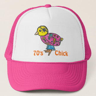 70's Chick Trucker Hat