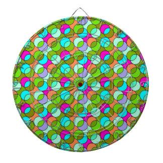 70s Circles green Dart Boards