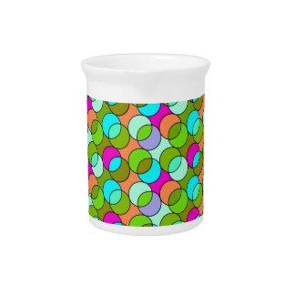 70s circunda verde jarra