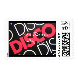 70's Disco Mania - Customized Postage