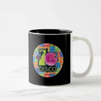 70's Disco Two-Tone Coffee Mug