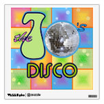 70s Disco Wall Decal