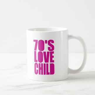70's Love Child Classic White Coffee Mug
