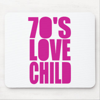 70's Love Child Mouse Pad
