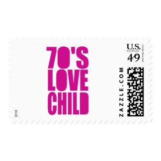 70's Love Child Postage Stamp