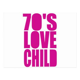 70's Love Child Postcard