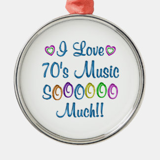 70s Love So Much Ornaments