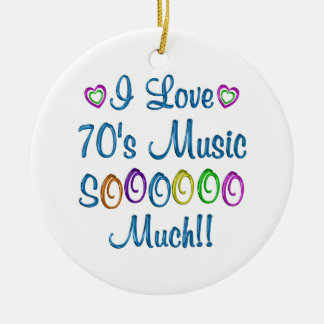 70s Love So Much Christmas Tree Ornament