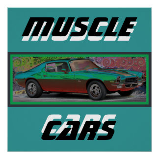 70s Muscle Car Print