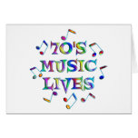 70s Music Lives Cards