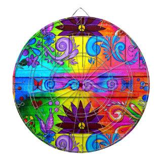 70's psychedelic dart board