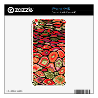 70s psychedelic decals for iPhone 4S