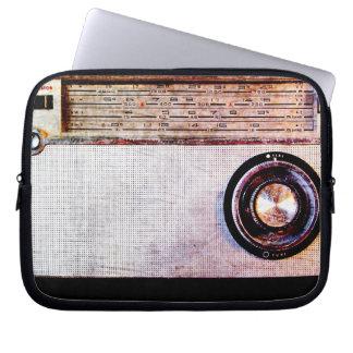 70's radio computer sleeve