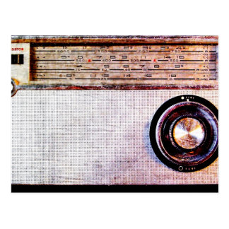 70's radio postcard