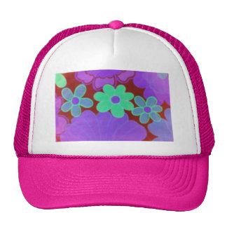 70's Retro Flower's Hat