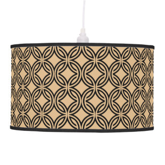 70's Retro Pattern 4 Pendant Lamp only, see notes.