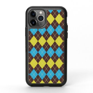 70s Scottish Tartan-Pattern OtterBox Symmetry iPhone 11 Pro Case