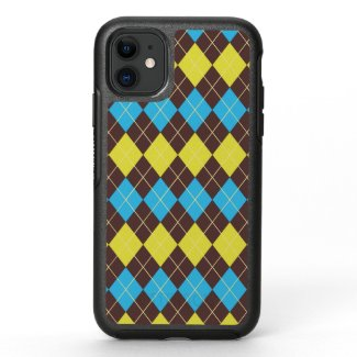 70s Scottish Tartan-Pattern OtterBox Symmetry iPhone 11 Case