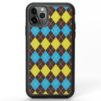 70s Scottish Tartan-Pattern OtterBox Symmetry iPhone 11 Pro Max Case