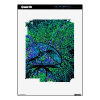 70's shroom love iPad 2 decals