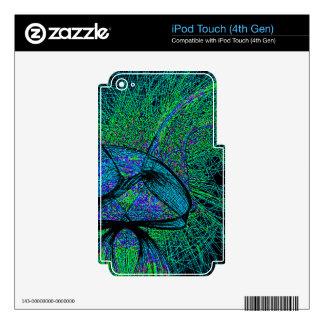 70's shroom love iPod touch 4G skin